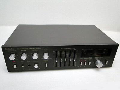 Technics SH-8030 Space Dimension Controller & Frequency Equalizer Vintage Stereo