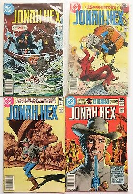 Jonah Hex No. 6 17 31 & 48 DC Comics Comic Book Lot of 4 1977