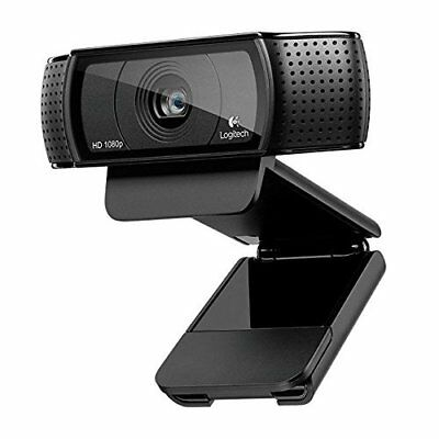 Webcam Logitech C920 HD Pro USB 1080p Skype Youtube Videos Chat Gaming
