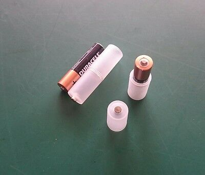 2x AAA to AA Size Battery Converter Adaptor Case **UK STOCK**FAST DESPATCH**