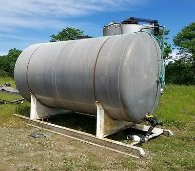 6,000 Gallon Storage Tank Aluminum Storage Container Bulk Water, diesel, Gas