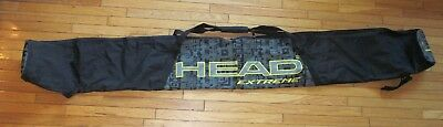 HEAD EXTREME ski bag - black + gray - 2.1m long (about 82 inches)