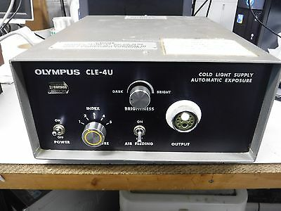 Olympus CLE-4U Cold Light Supply Automatic Exposure