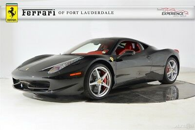 2014 Ferrari 458 Italia Carbon Fiber LED AFS Lifter Shields iPod Navigation Camera Forged Full Electric
