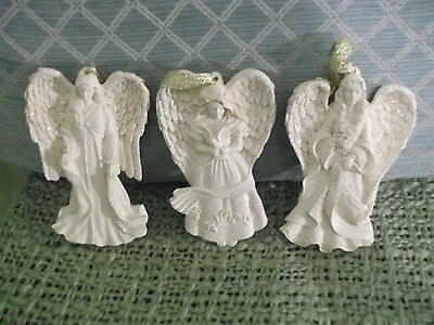Lot of 3 Angelstar `04 Limited ED 5`` Angel Ornaments - so lovely