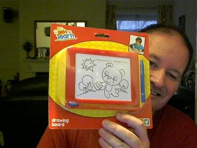 Play &  Learn  Etch A Sketch Variant Toy Perfect Xmas Gift Free Uk Post