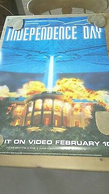 Indepedence Day Video Release Prom Poster