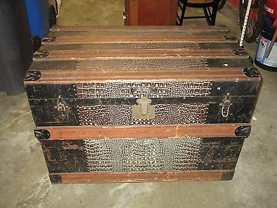 Vintage Large Clinton Wall Trunk