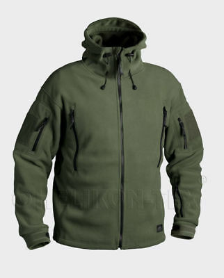 HELIKON-TEX PATRIOT Fleece 390g Olive Green Jacke BL-PAT-HF-02.