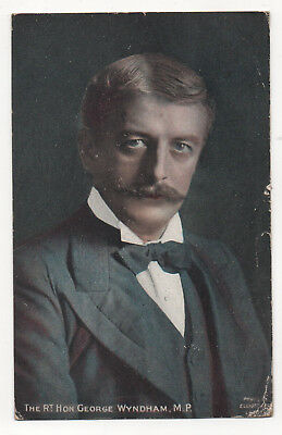 Vintage Postcard The Rt. Hon. George Wyndham MP Conservative Party Used 1906