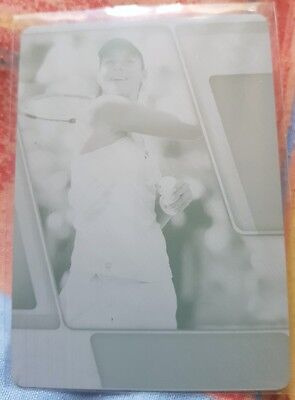 Ana IVANOVIC Ace Authentic Press Plate