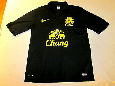Camiseta  Shirt Everton 2012-13 Talla Size M Exc Condition