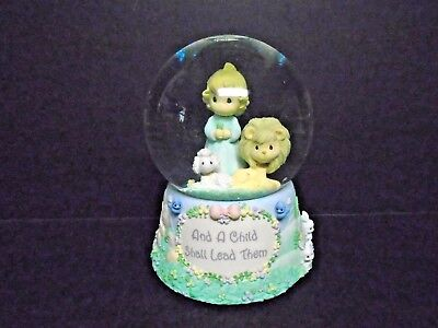 "2001 Enesco Precious Moments Musical Waterball ""Amazing Grace"" Ex. Cond."