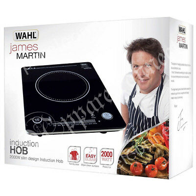 WAHL James Martin 2000W Induction Hob ZX965 with Instant Heat