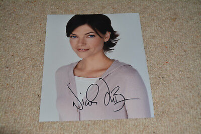 NICOLE DE BOER signed Autogramm 20x25 cm In Person DEAD ZONE