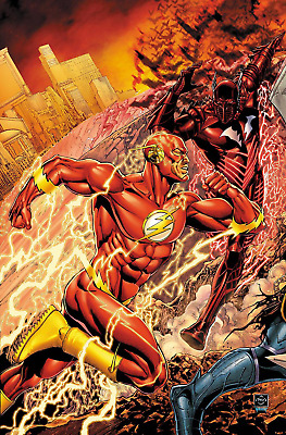 Flash #33 Van Sciver Cover Dc Rebirth Comics Dark Nights Metal Tie In Red Death