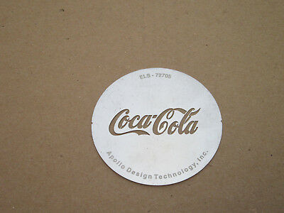 Custom Coca-Cola Gobo Lighting Pattern, Size B, made by Apollo Design