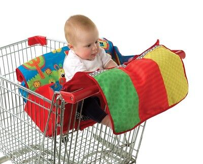Playgro Travel Along Trolley High Chair Cover Playmat Multi Use 0m+
