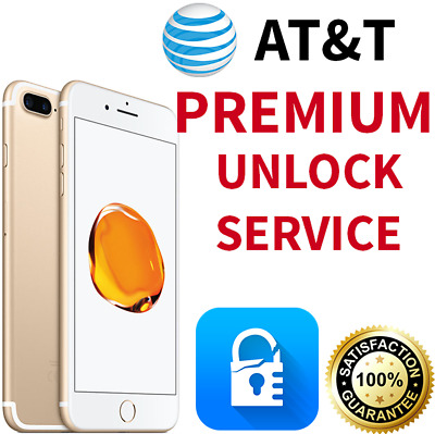 Premium Factory Unlock Service At&t Apple Iphone 7 Se 6S 6 5S 5C 5 Att 100% All