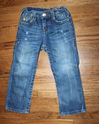 True Religion Toddler Boy Girl Clothes Jeans Size 3