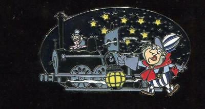 Reveal Conceal Mystery Mr Toad's Wild Ride Conductor with Train Disney Pin 87570