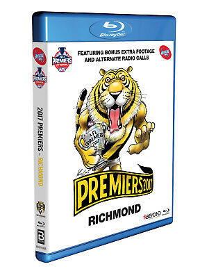 BRAND NEW AFL Premiers 2017 - Richmond Tigers : Grand Final Blu-Ray