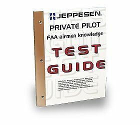 PRIVATE PILOT FAA AIRMEN KNOWLEDGE TEST GUIDE FOR COMPUTER By Jeppesen NEW