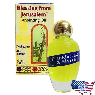Frankincense and Myrrh Anointing Oil with Biblical Spices (10ml), New, Free Ship