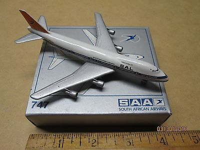 Boeing 747 Toy Plane - Made in Germany, with box