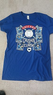 12 (One Dozen)  Chicago Cubs Licensed  T-Shirts Various Sizes