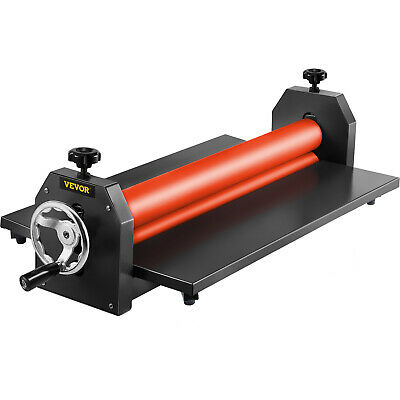 "29.5"" Cold Laminator Machine Mounting Adhensive Soft Rubber 4 Roller Manual"