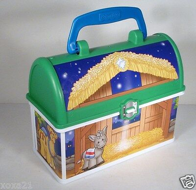 Unused Plastic Dome  Lunchbox by Fisher - Price