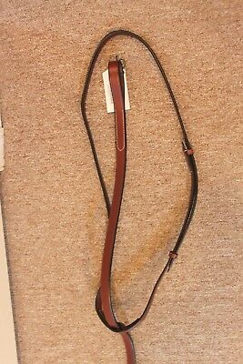 NEW Collegiate Flat Standing Martingale - Brown - Horse
