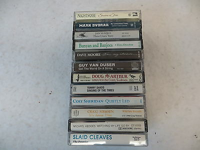 12 Cassette tapes of Folk