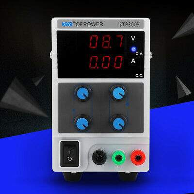 SKYTOPPOWER 3/4 Digit Variable Regulated DC Power Supply 0-30V/60V 0-3A/5A/10A