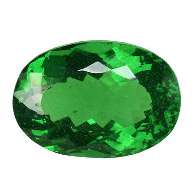 62.875Cts Gorgeous Amazing Green Natural ( Moldavite) Natural Glass Oval