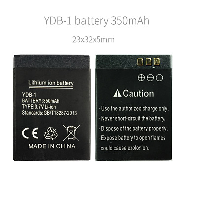 YDB-1 battery smart watch phone 350mAh battery for X6 and T7 23mm*32mm