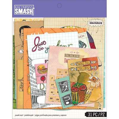 SMASH Punch-Out Assortment 31/Pkg  643077672000