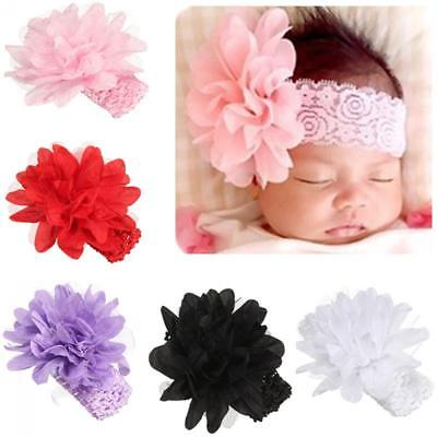 Cute Kids Girl Baby Headband Toddler Lace Bow Flower Hair Band Sweety Headwears