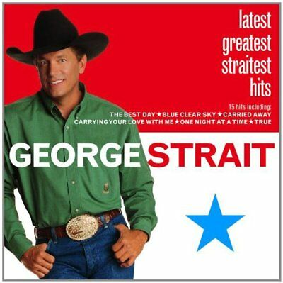 STRAIT GEORGE - Latest Greatest - CD - Best Of - **BRAND NEW/STILL SEALED**