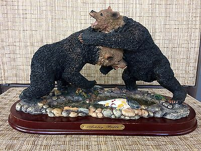 Fighting Grizzly Bear Figurine Ashley Belle