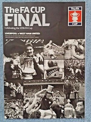 2006 - FA CUP FINAL PROGRAMME - LIVERPOOL v WEST HAM UTD
