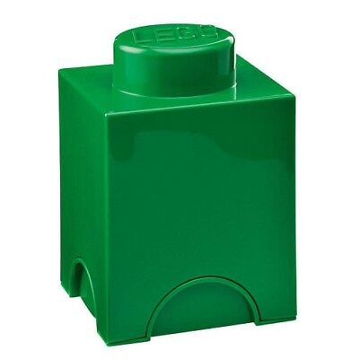 LEGO Stackable Storage Brick 1 - Green. Room Copenhagen. Huge Saving