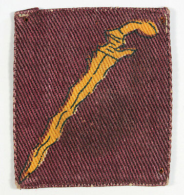 Malaya Command - Commonwealth Troops Printed Formation Sign Badge