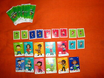 Woolworths World Explorers - LOT of 11x Cards + Stickers