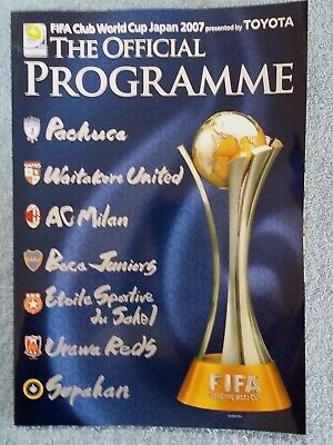 2007 - Fifa Club World Cup Tournament Programme - Featuring Ac Milan