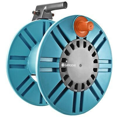 GARDENA WALL FIXED HOSE REEL WITH GUIDE Prevents Water Spill