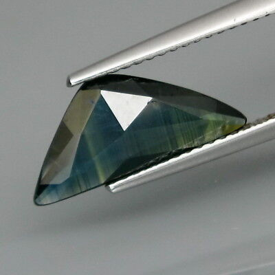 2.29Ct.Outstanding Cutting! Rose Cut Blue Green Normal Heated Sapphire Africa