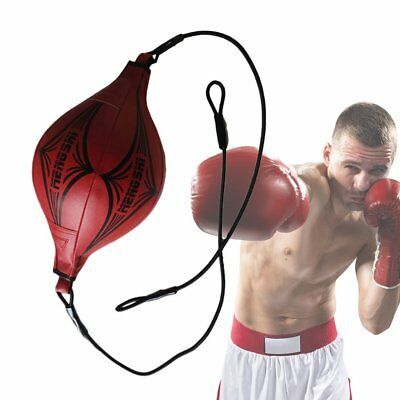 Double End Boxing Speed Ball Fitness Vent Ball Hanging Boxing Punching Bag IL