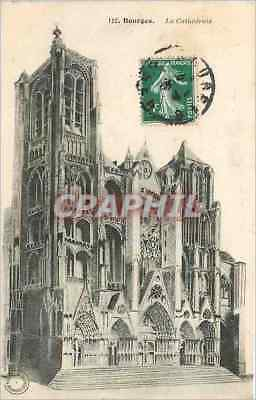 CPA BOURGES-L a Cathedrale